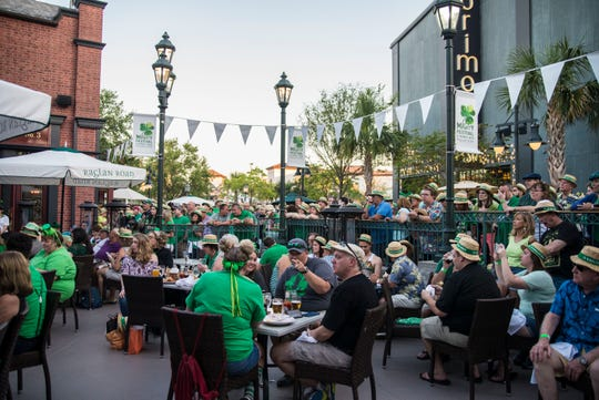 The Mighty St. Patrick's Festival at Raglan Road in Disney Springs runs Friday through Sunday.