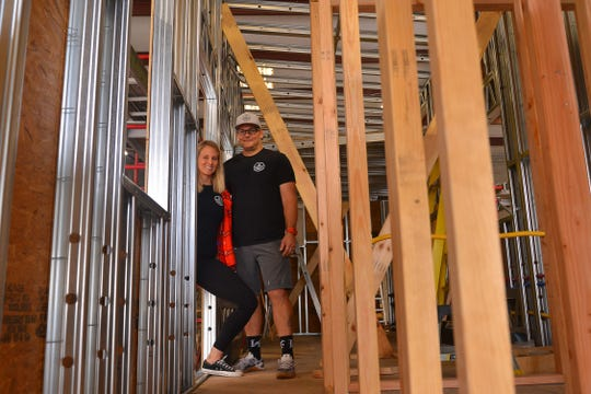 Mike and Nikki Cheatham were looking to downsize in 2017, and they started looking at tiny houses as customers.