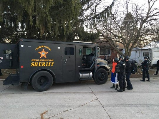 Jeremy Taylor Clark was arrested Monday after a three-hour standoff on Woodale Avenue.