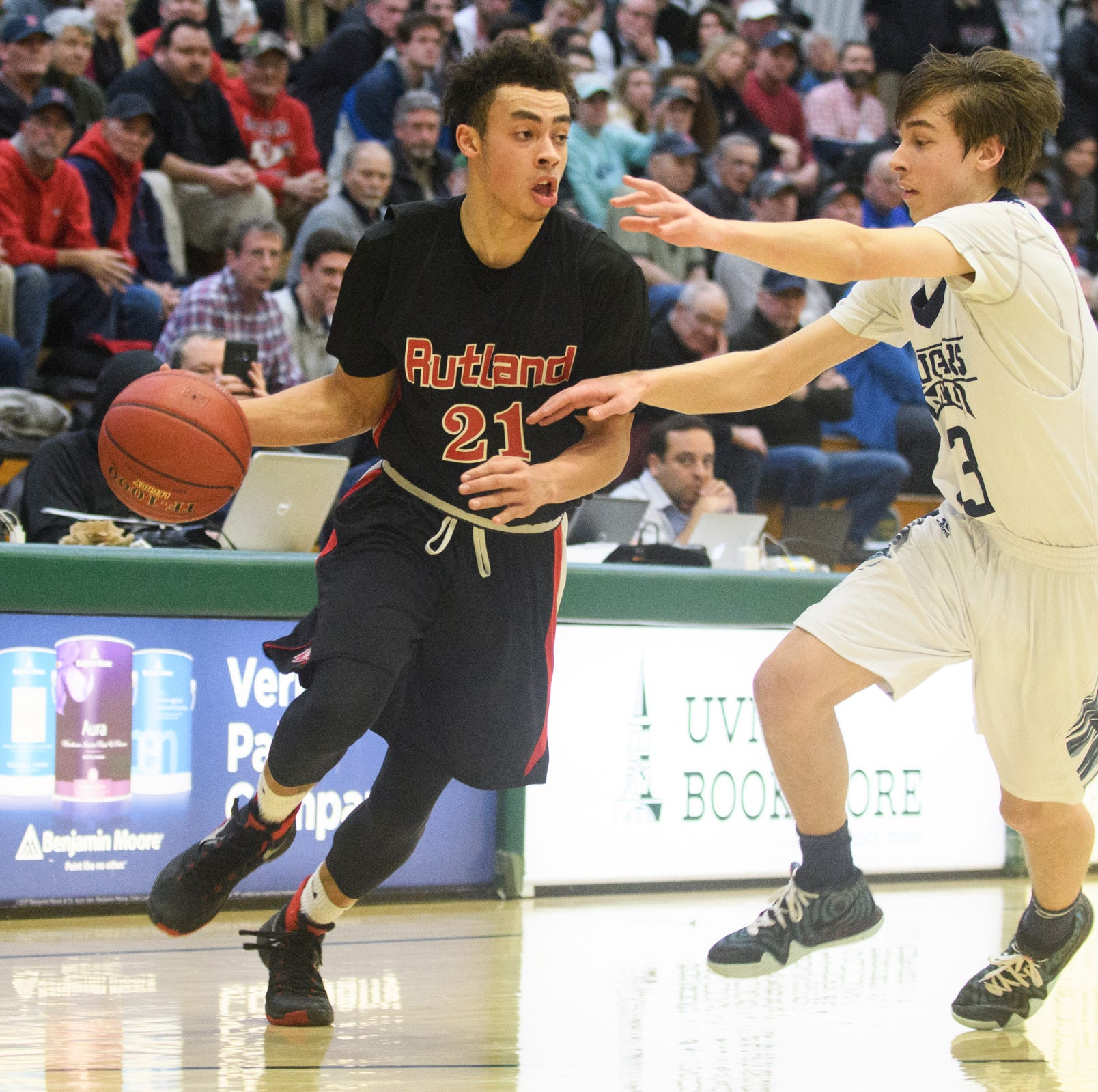 Vermont H.S. boys basketball: Rutland's Jamison Evans named Gatorade player of the year