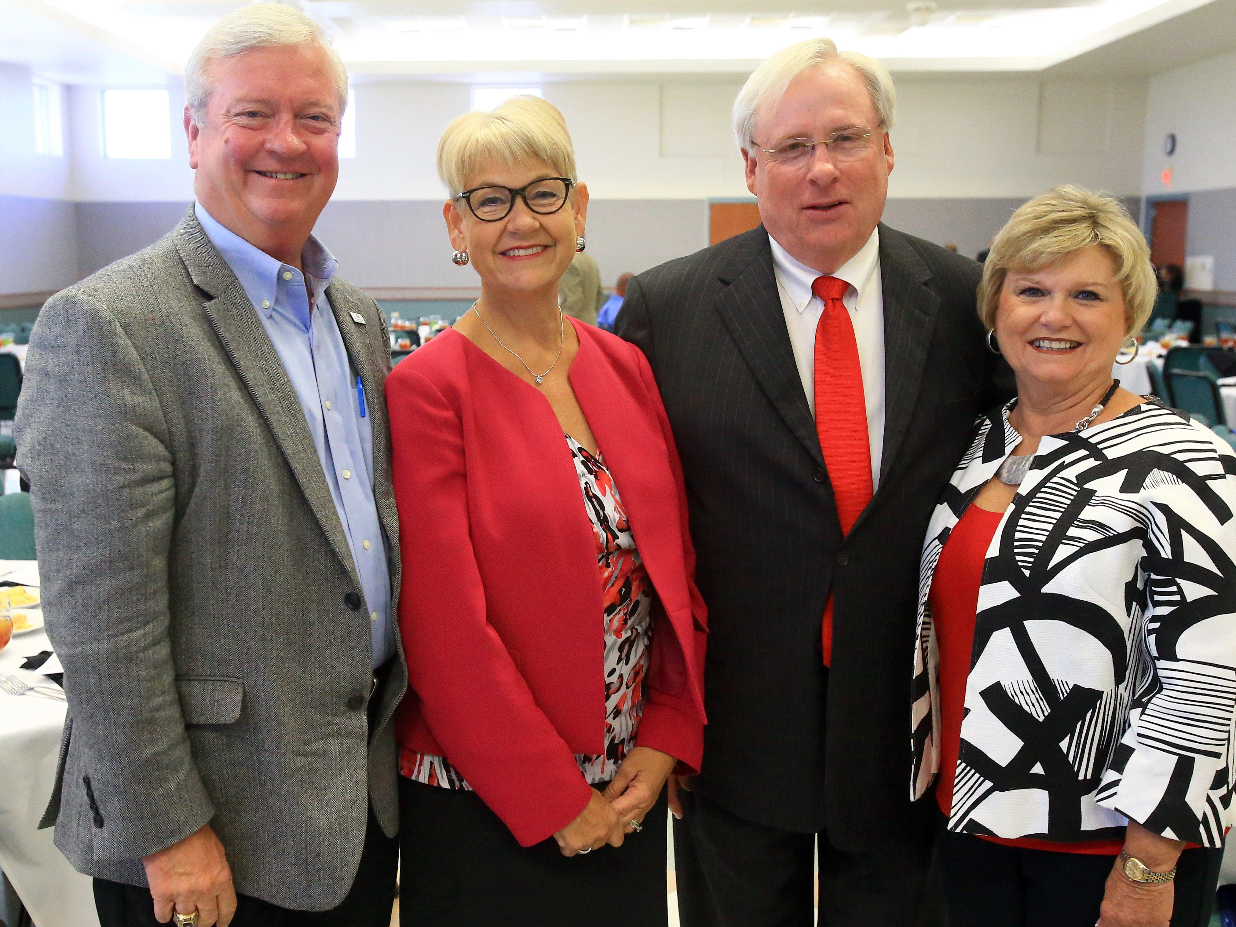 Alan Wilson (from left) Catrina WIlson, Wes Hoskins and Janie Hoskins attended the State of the Port Luncheon on Thursday, Aug. 18, 2016, at the Portland Community Center in Portland.