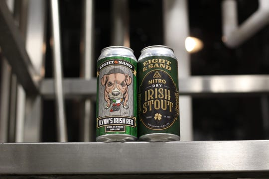 Eight & Sand offers Flynn's Irish Red and Nitro Dry Irish Stout this holiday season.