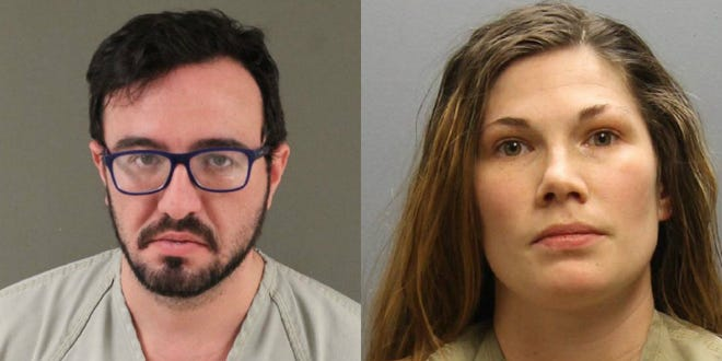 Aaron Graves, of Columbus, and Kathryn Snyder, of Chillicothe, were arrested on felony drug charges after a drug search warrant was served at Graves' apartment in northwest Columbus on March 6, 2019.
