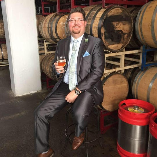 Del Hall, director of sales at Fifty West Brewing Company, is giving up everything for his Lenten fast. Except beer. He plans to spend Lent fasting, using beer as his only calorie intake.
