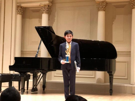 Harry Li of Edison, a sixth grade student at The Wardlaw+Hartridge School, performed at Carnegie Hall.