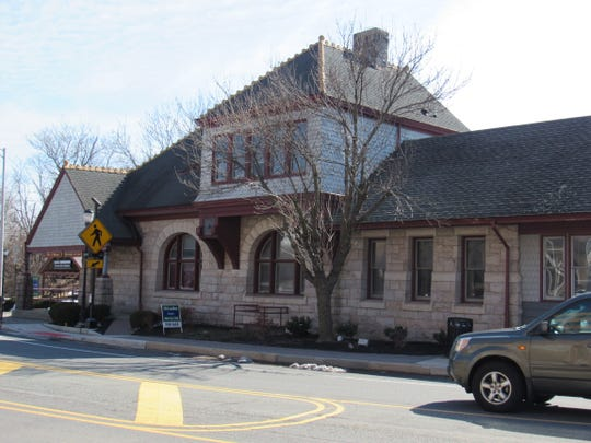 The Somerville train station is for sale.