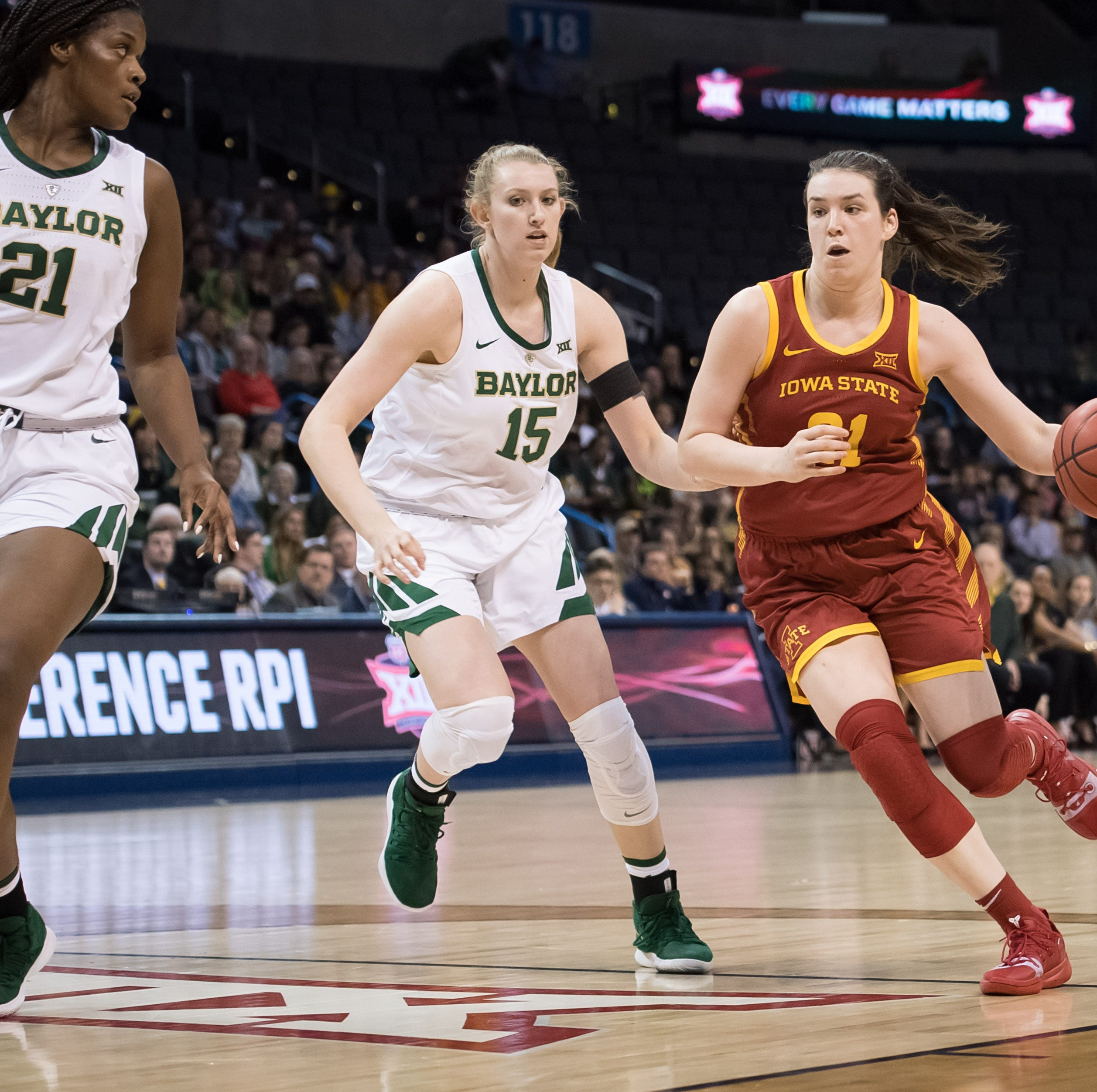 Iowa State falls to top-ranked Baylor in the finals of the Big 12 Tournament