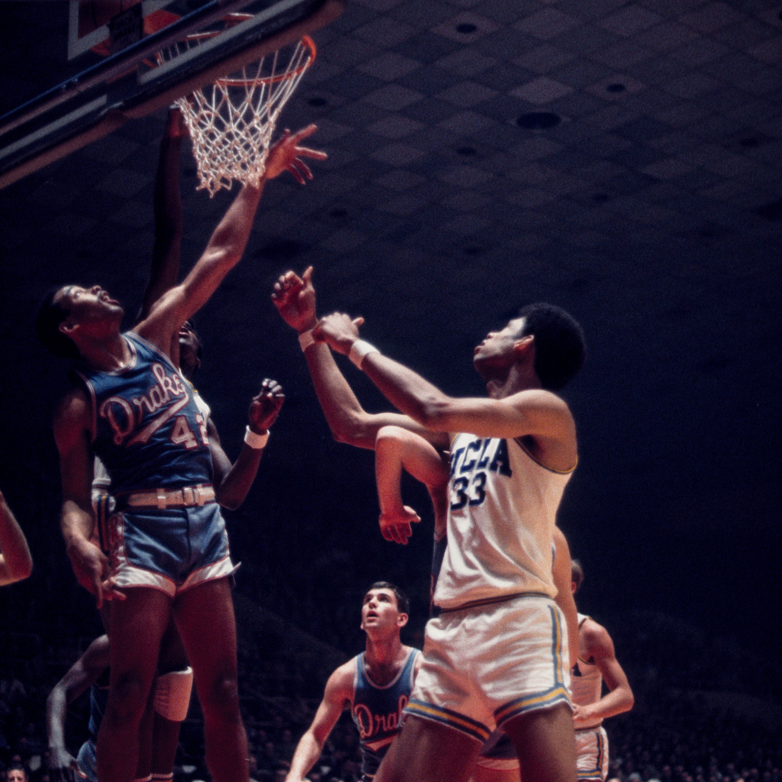 The David vs. Goliath story of the 1969 Drake Bulldogs and their run to NCAA's Final Four