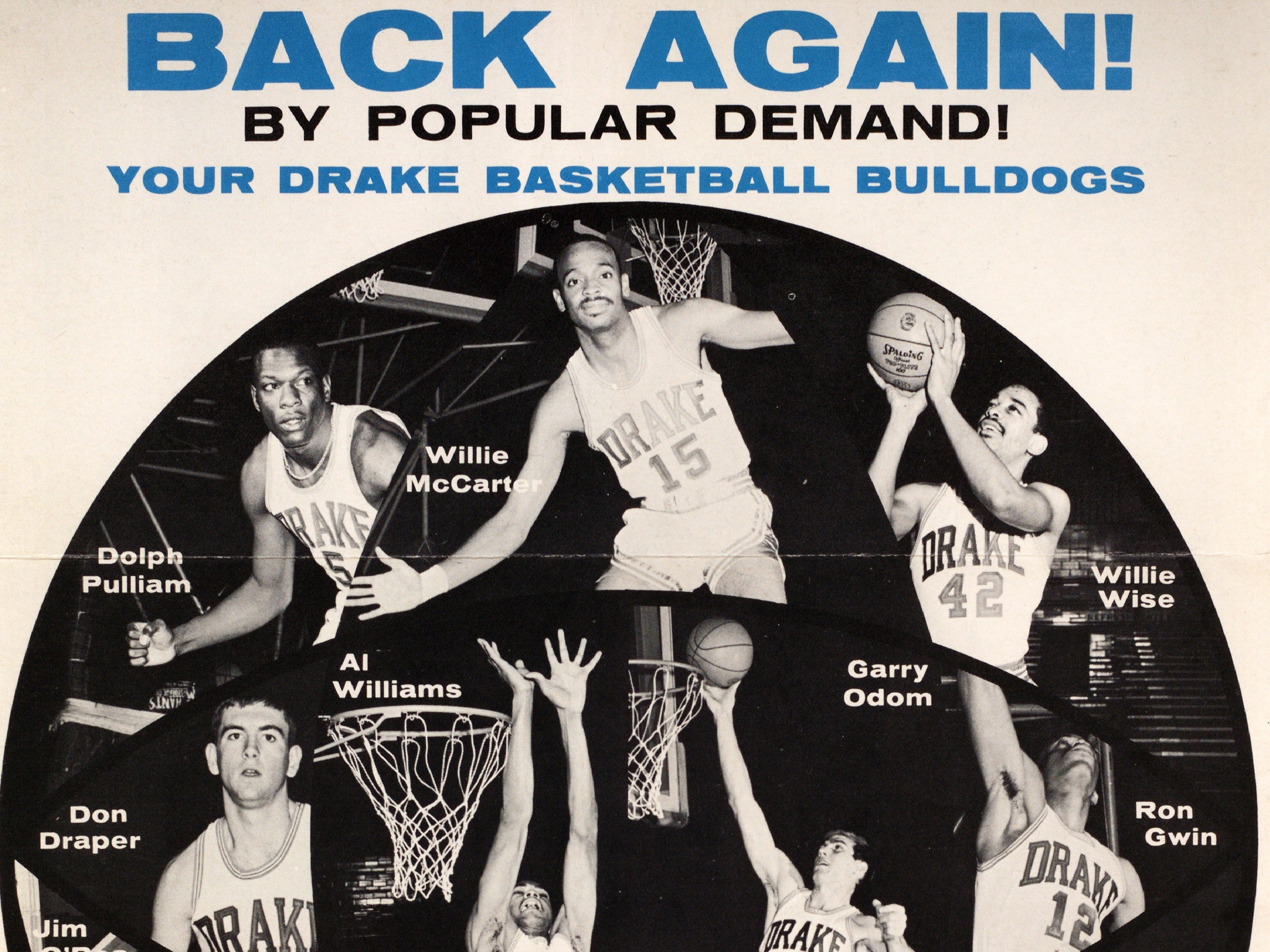 A program from the 1968-69 Drake men's basketball season.