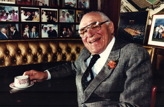 """From 1989: Alphonse """"Babe"""" Bisignano was known to plop down in a booth beside customers — whether they were friends or total strangers — and tell stories. Bisignano died in 2005."""