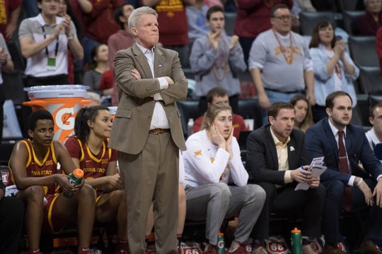 Iowa State coach Bill Fennelly's team will play at home to start the NCAA Tournament.