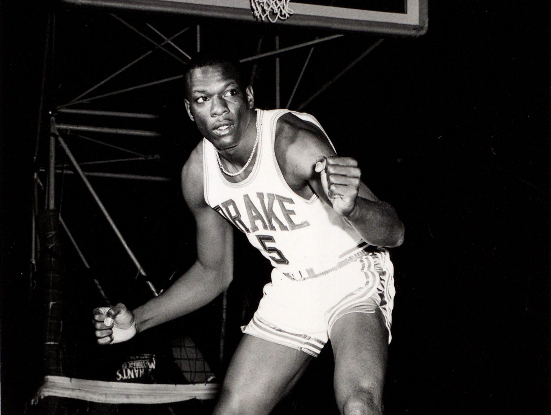 Dolph Pulliam was a 6-4 senior forward on the 1968-69 Drake men's basketball team that made it to the Final Four. He averaged 13.2 points and 7.7 rebounds that season.