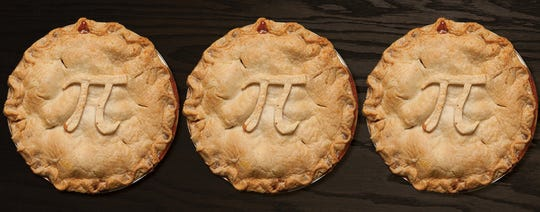 Pi Day offerings at Grand Traverse Pie Company.