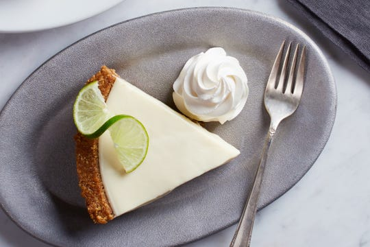 Key lime pie from California Pizza Kitchen.