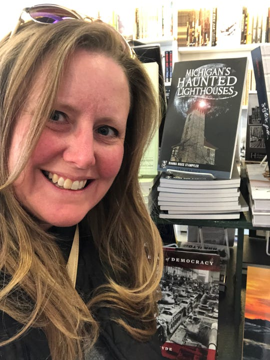 "Dianna Stampfler's book, ""Michigan's Haunted Lighthouses,"" chronicles the history of some of the most spookiest beacons in the state."