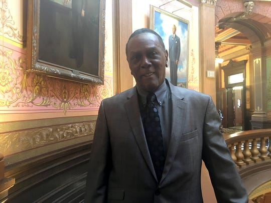 Richard Phillips, a 73-year-old from Southfield, watched as the House of Representatives voted unanimously to add $10 million to a fund that compensates wrongly convicted people on Tuesday, March 12, 2019.