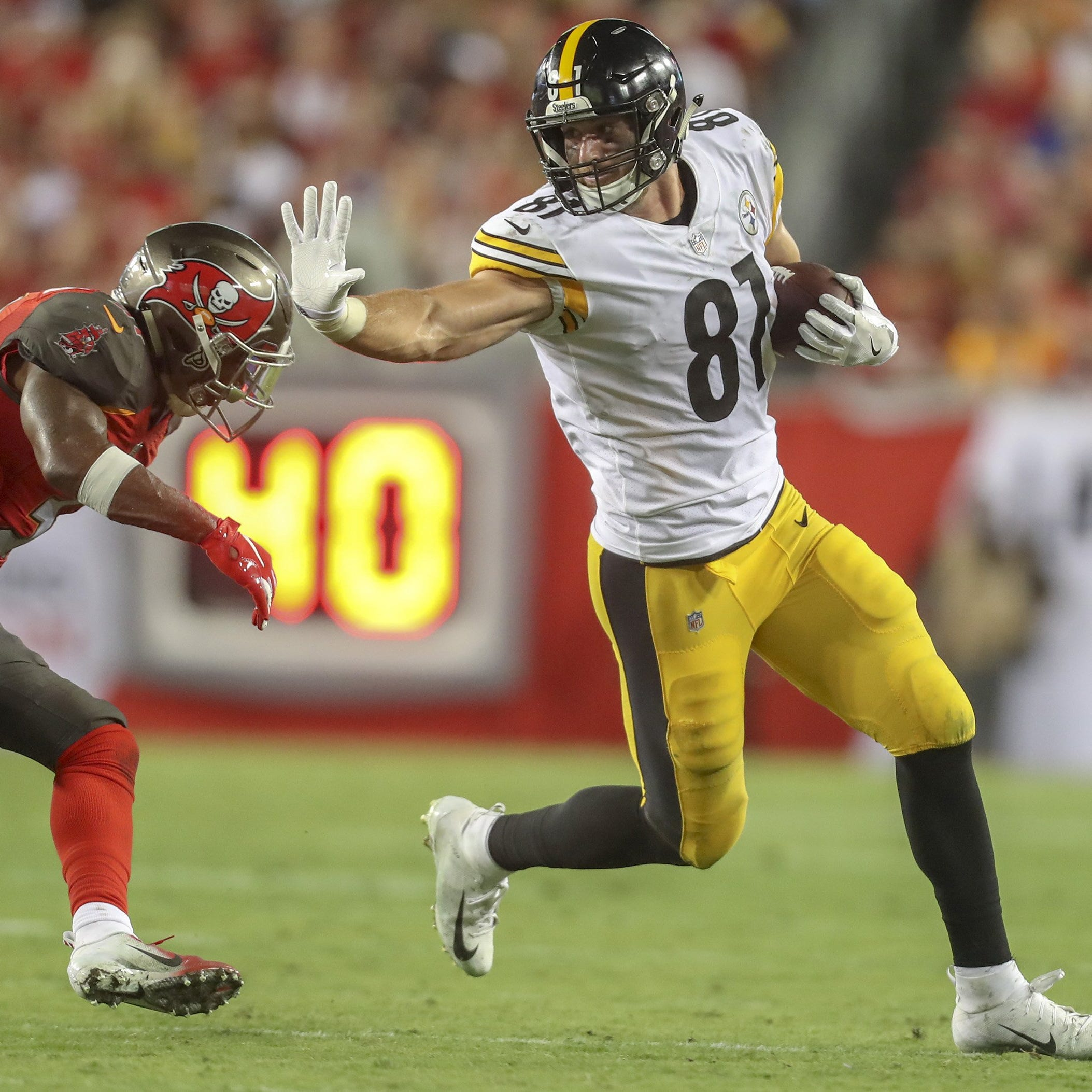 Jesse James thinks he can fill bigger role with Detroit Lions offense