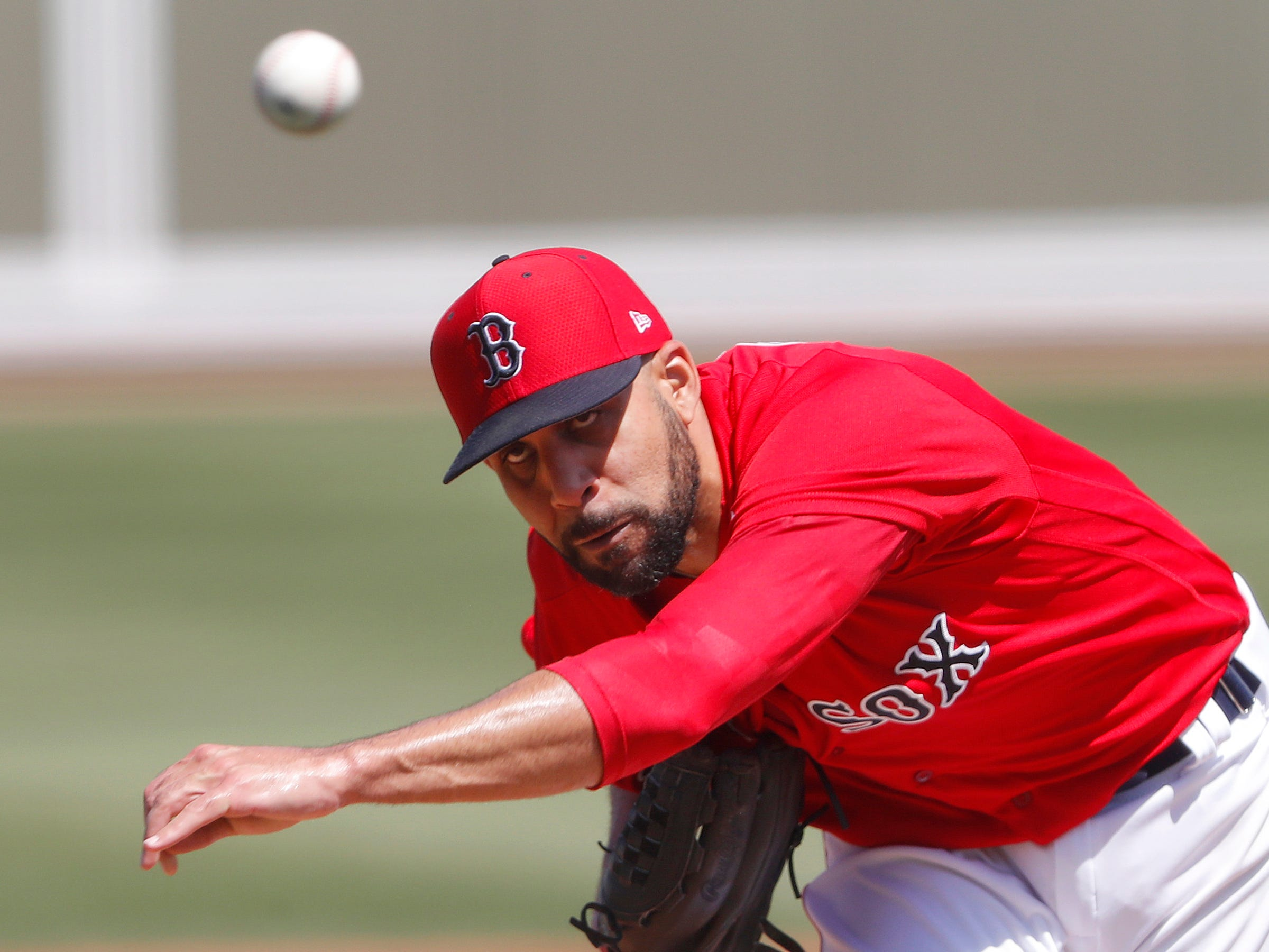 Red Sox starting pitcher David Price allowed two hits and two runs  in his three innings of work vs. the Tigers.