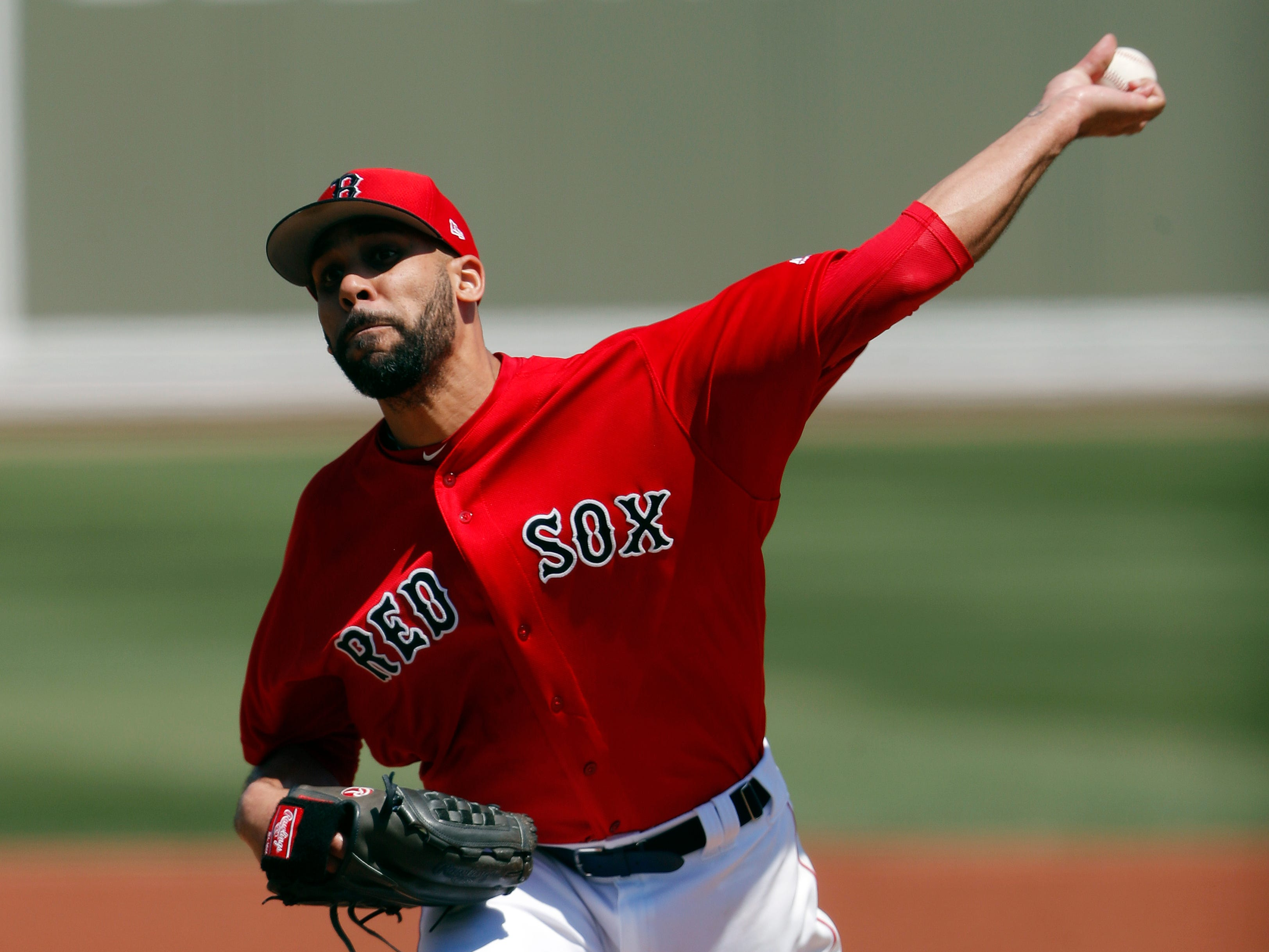 Red Sox starting pitcher David Price allowed two hits and two runs vs. the Tigers in his three innings of work.