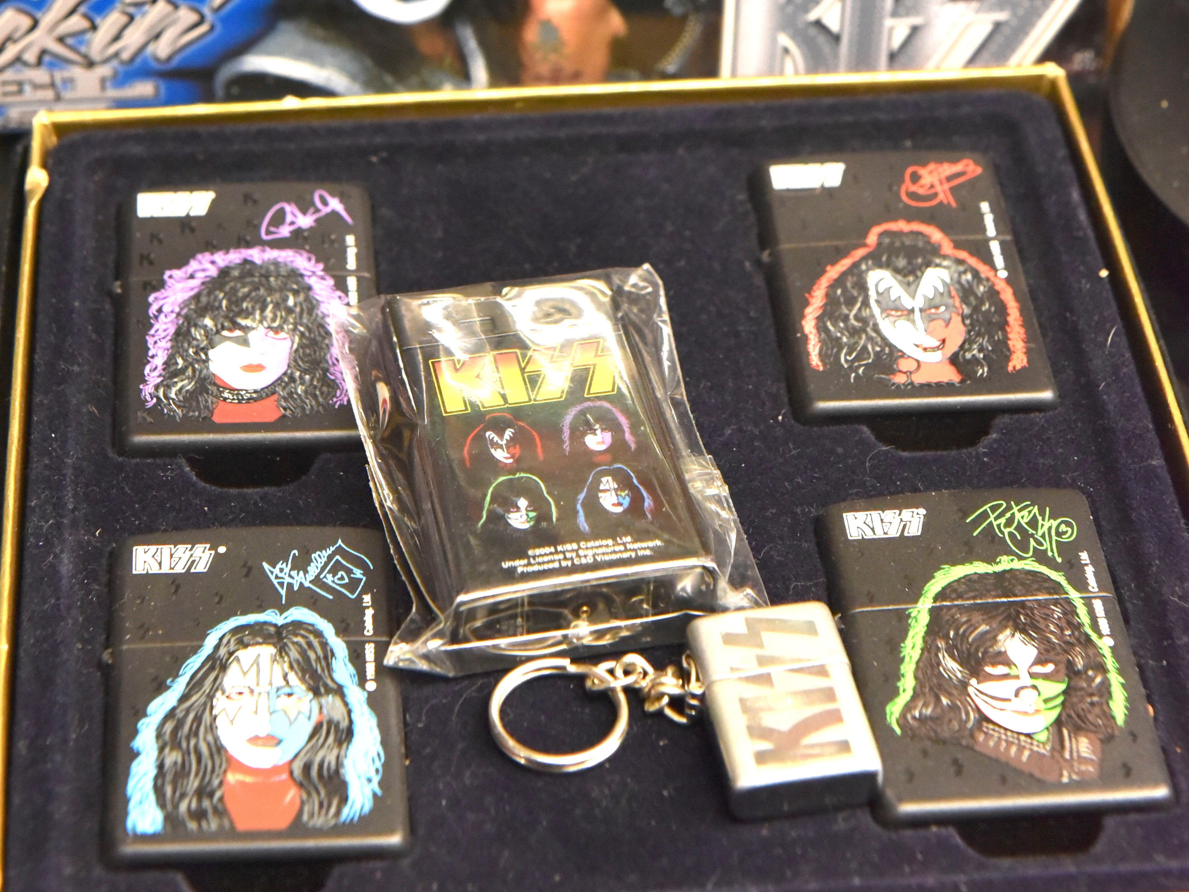 These are KISS lighters.