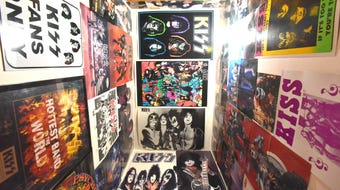 KISS fan Terry Pakulski, 58, has been collecting memorabilia since he was 16. He's seen the band 68 times and will attend Wednesday's Detroit show.