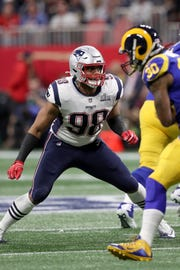 Pass rusher Trey Flowers will be signing a five-year contract with Detroit worth $90 million.