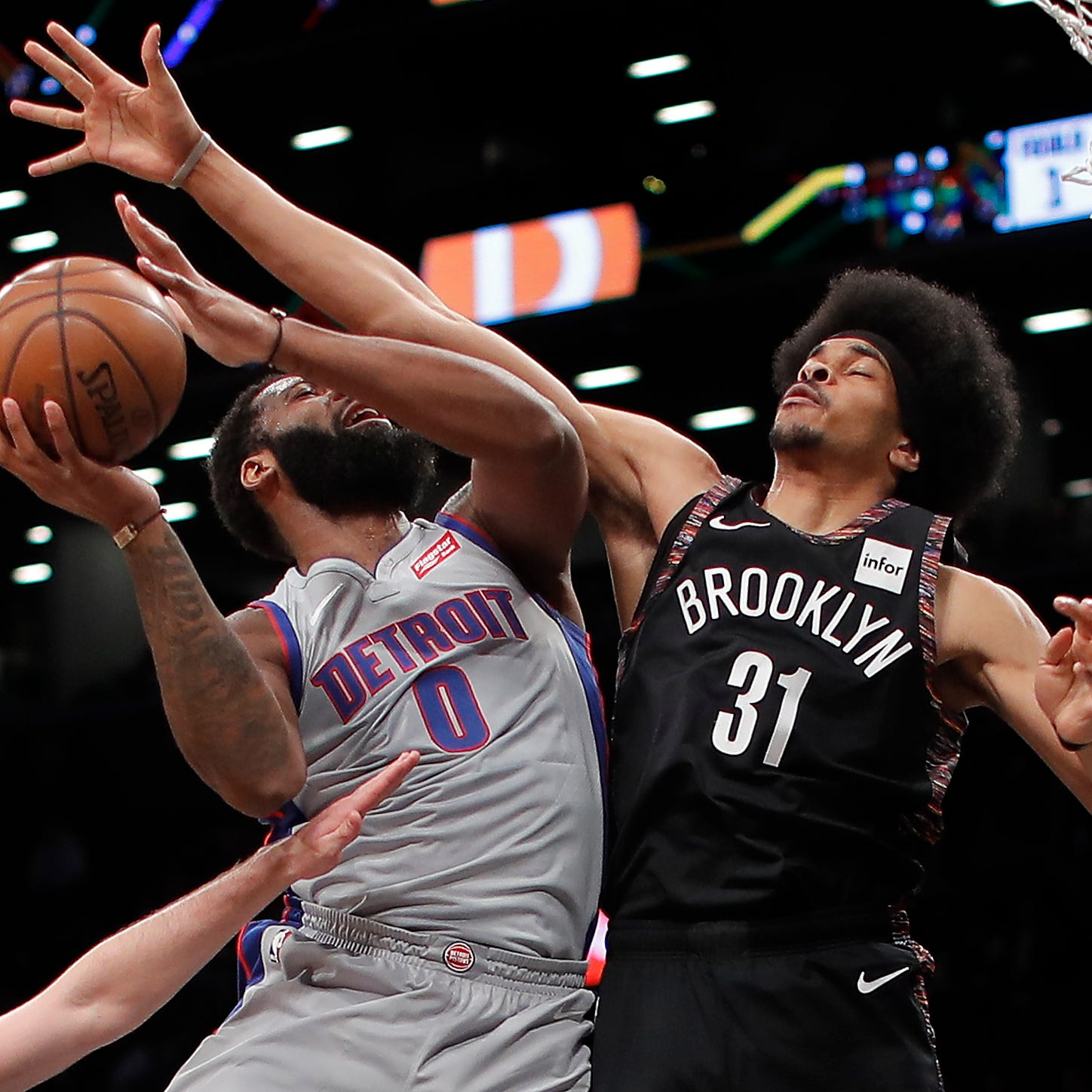 Torrid Pistons turn tepid in 28-point blowout to Nets, win streak halted at 5
