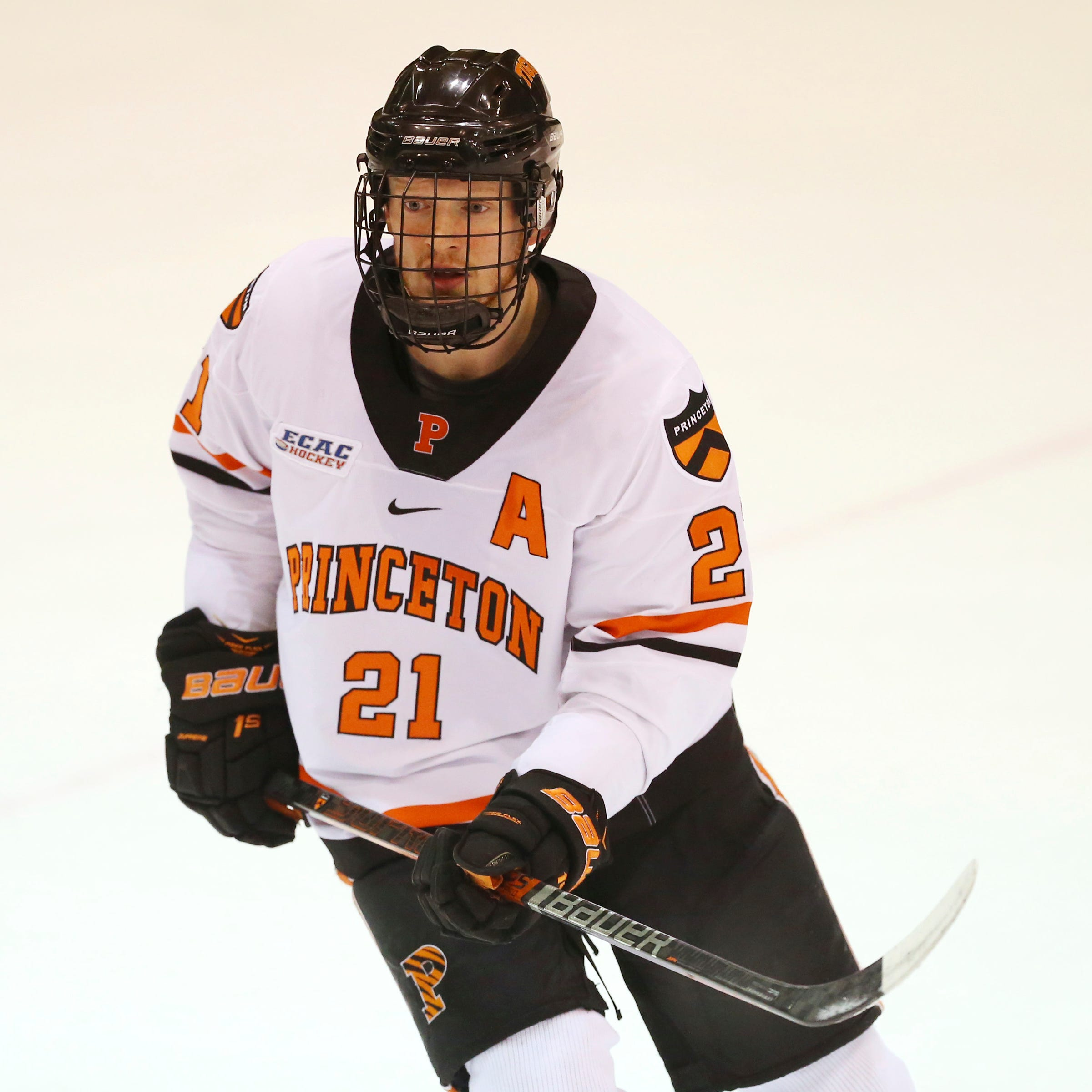 Red Wings sign undrafted free agent Ryan Kuffner from Princeton