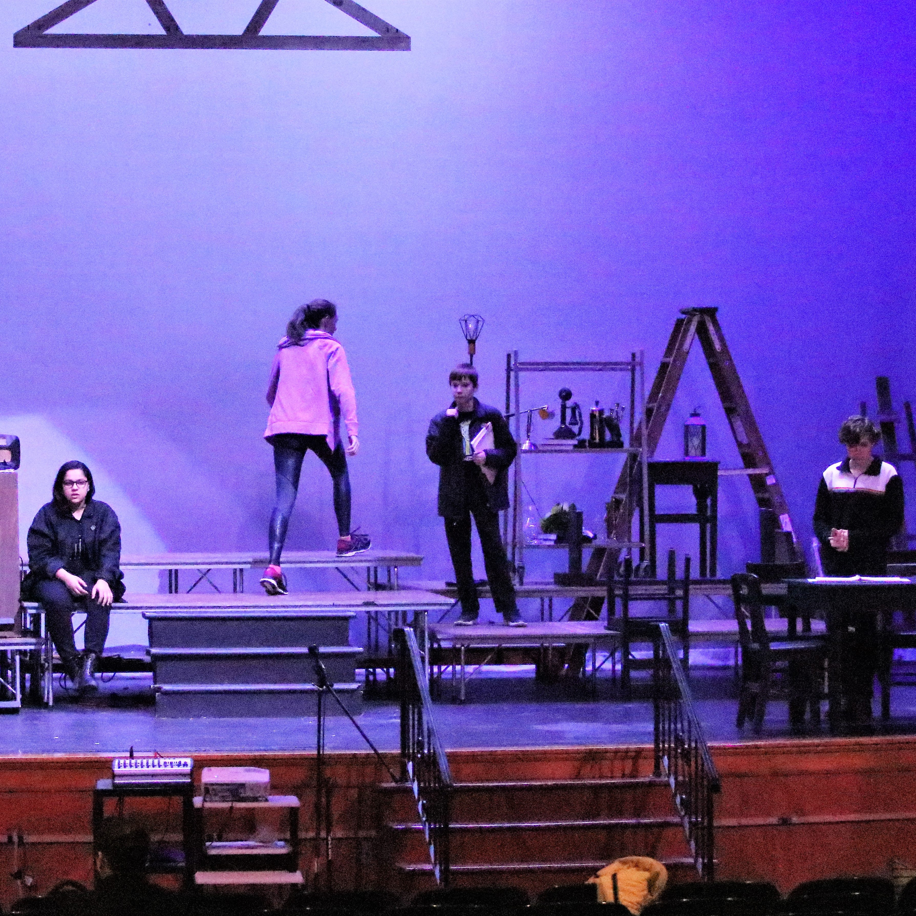Elmira becomes 'Our Town' for Notre Dame High School theater group