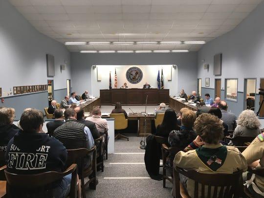 The Chemung County Legislature meets Monday night in Elmira.