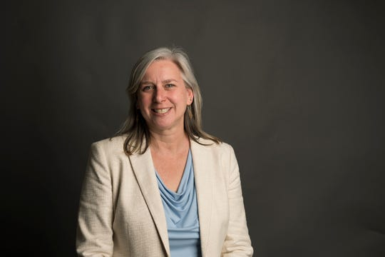 Fort Collins district two council member candidate Julie Pignataro poses for a portrait on Friday, March 8, 2019, at The Coloradoan in Fort Collins, Colo.