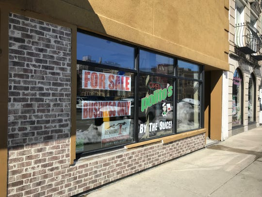 Polito's closed its downtown Green Bay location and put the business up for sale.