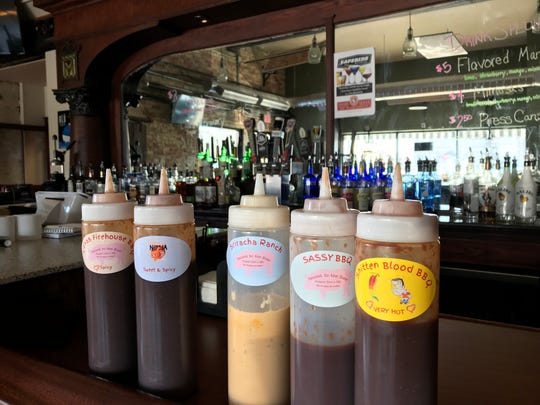 Smoked to the Bone will feature six different sauces for diners to choose from, though owner Jeff Ellis said the sauce is a condiment, not the main feature of the barbecue.