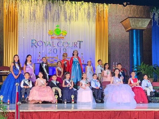 Congratulations to all the winners of Santa Barbara Catholic School who were crowned during the Royal Court of 2019 on Feb. 8. SBCS thanks all the parents, faculty, staff, students and friends who made this year's fundraising event a big success. Front row from left: Roy Kim, Rishandy Santos, Levi Mendiola, Mila Rose Valencia, Elayna De Roca, Alexander Sanchez, Avery Guiao, Lily Guevara, and Ezekiel Fulgar. Second row from left: Raniah Arazas, Alexis Flores, Michael Milanez (2nd prince), Samantha Deseo (2nd princess), Evan Carino (King), Ashley Douglas (Queen), Matilde Matsumiya (1st princess), Ferdinand Pastones (1st prince), Sadie Guevara, and Ashton Weger.