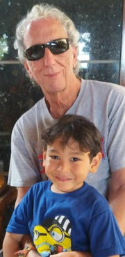David Lubofsky and his son, Asher Dean Lubofsky. The parents of Asher Lubofsky filed a government claim with Guam Memorial Hospital alleging negligence that resulted in their son's death.