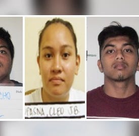 David Quichocho, Shawn Quichocho and Cleo Topasna arrested in Tumon robberies