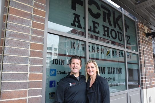 Chris and Amy Long are the owners of Fork + Ale House brewery.