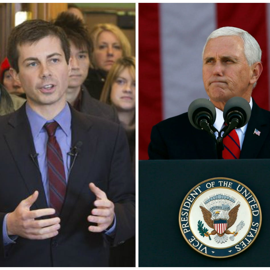 What Pete Buttigieg said when asked whether Mike Pence was homophobic