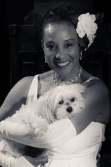 "Monica Cantrell will play Billie Holiday in ""Lady Day at Emerson's Bar and Grill."" Zoe is playing Holiday's dog Pepe. It is being produced by the Fonseca Theatre Company at the Linebacker bar."