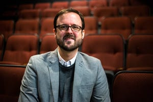 Adam Knight, artistic director at the Riverside Theatre