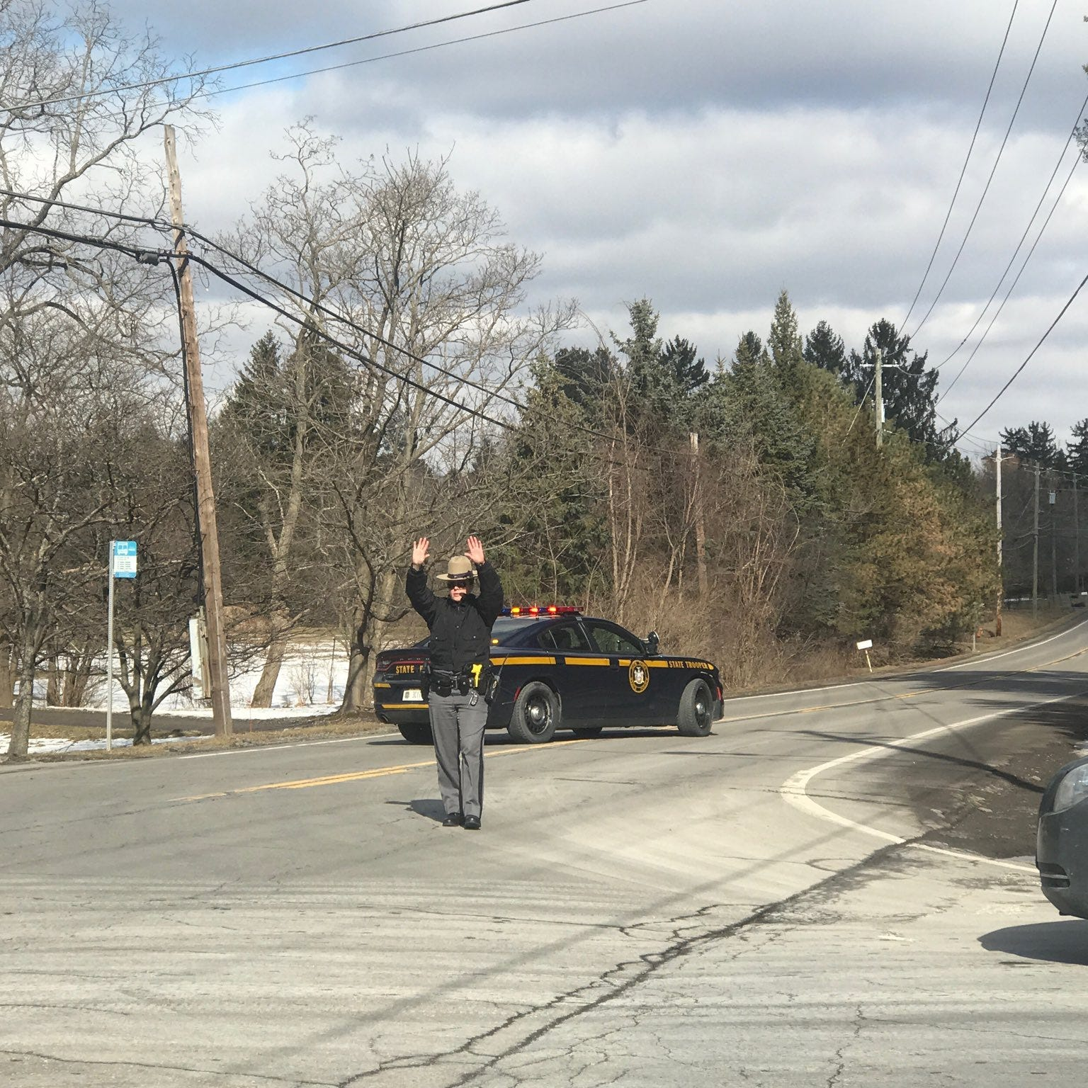 Law enforcement respond to shooting on Dryden Road