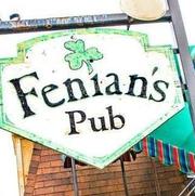 Screenshot of Fenian's Pub logo from Facebook.