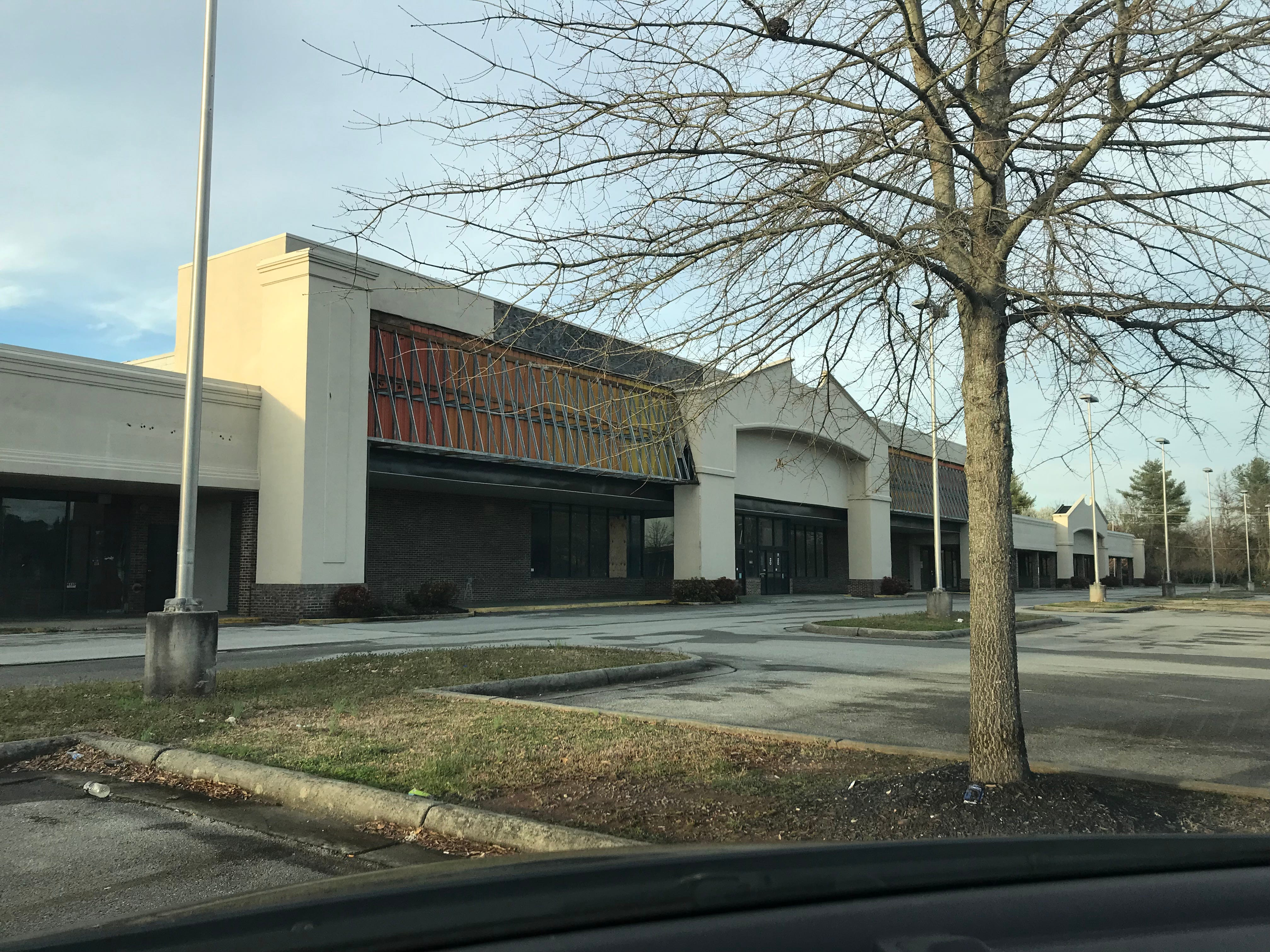 Plans for the former Ingle's on Kingston Pike include having the interior gutted and built out to suit new tenants.