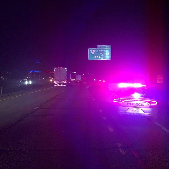 I-75 South, Emory Road crash prompts search for armed man