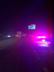 KPD, KCSO and THP are investigating a single vehicle accident on I-75 South near Emory Road.