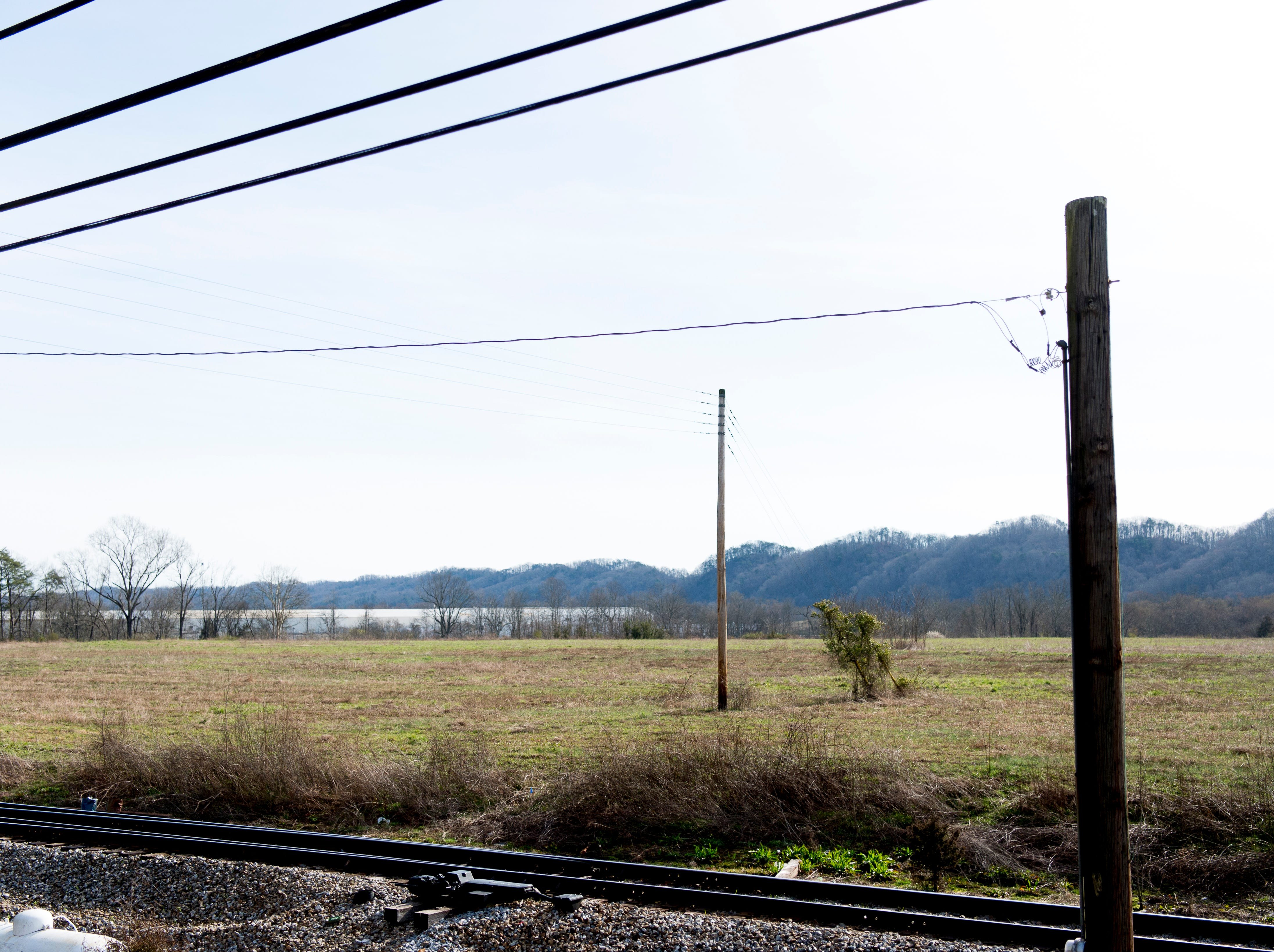 This is the site of the future Aspire Park in Clinton, Tenn. The Hollingsworth Foundation is looking to redevelop nearly 450 acres of land off Yarnell Road into a recreational park.