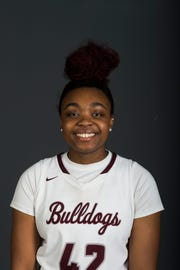 Jakhyia Davis, PrepXtra Player of the Year nominee poses for a portrait at the Knoxville News Sentinel photo studio in Knoxville, Tennessee on Tuesday, March 12, 2019.
