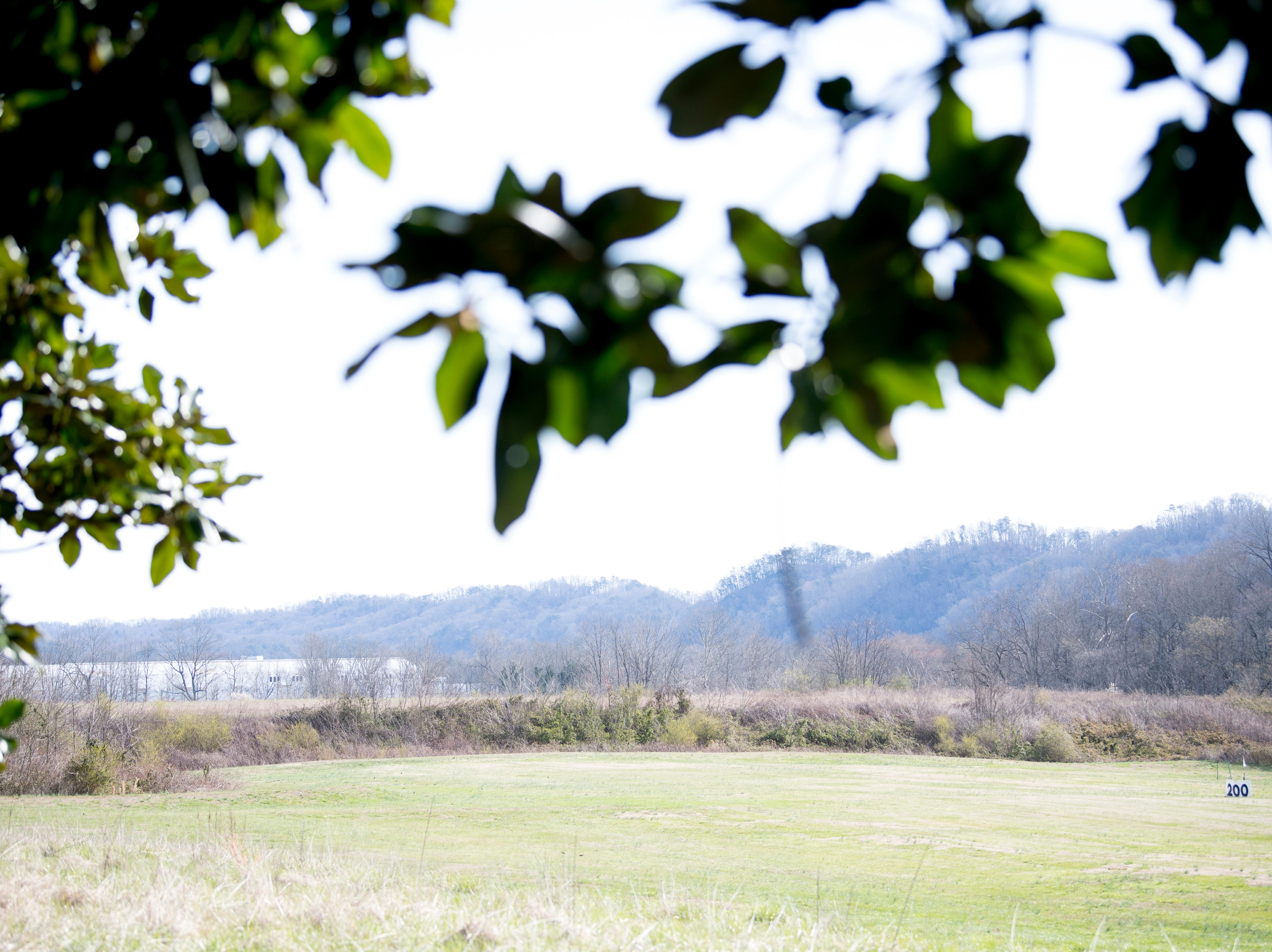 A view of the site of the future Aspire Park in Clinton, Tennessee on Tuesday, March 12, 2019. The Hollingsworth Foundation is looking to redevelop nearly 450 acres of land off Yarnell Road into a recreational park.