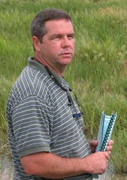 Eric Webster is a weed scientist at Louisiana State University. He works specifically on weeds that affect rice and works with Acadiana rice growers.