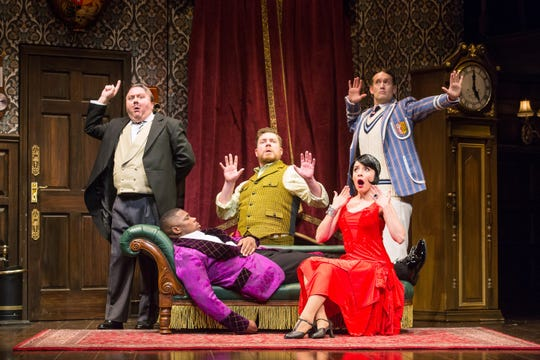 """The Play That Goes Wrong,"" will be presented at the Palace Theatre."